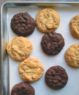 Decadent Chocolate Brownie Cookies & the Search for the PERFECT Peanut Butter Cookies